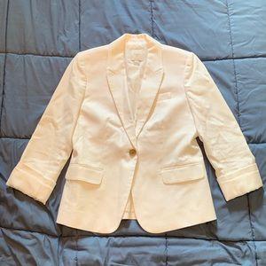 J. Crew white blazer size 6